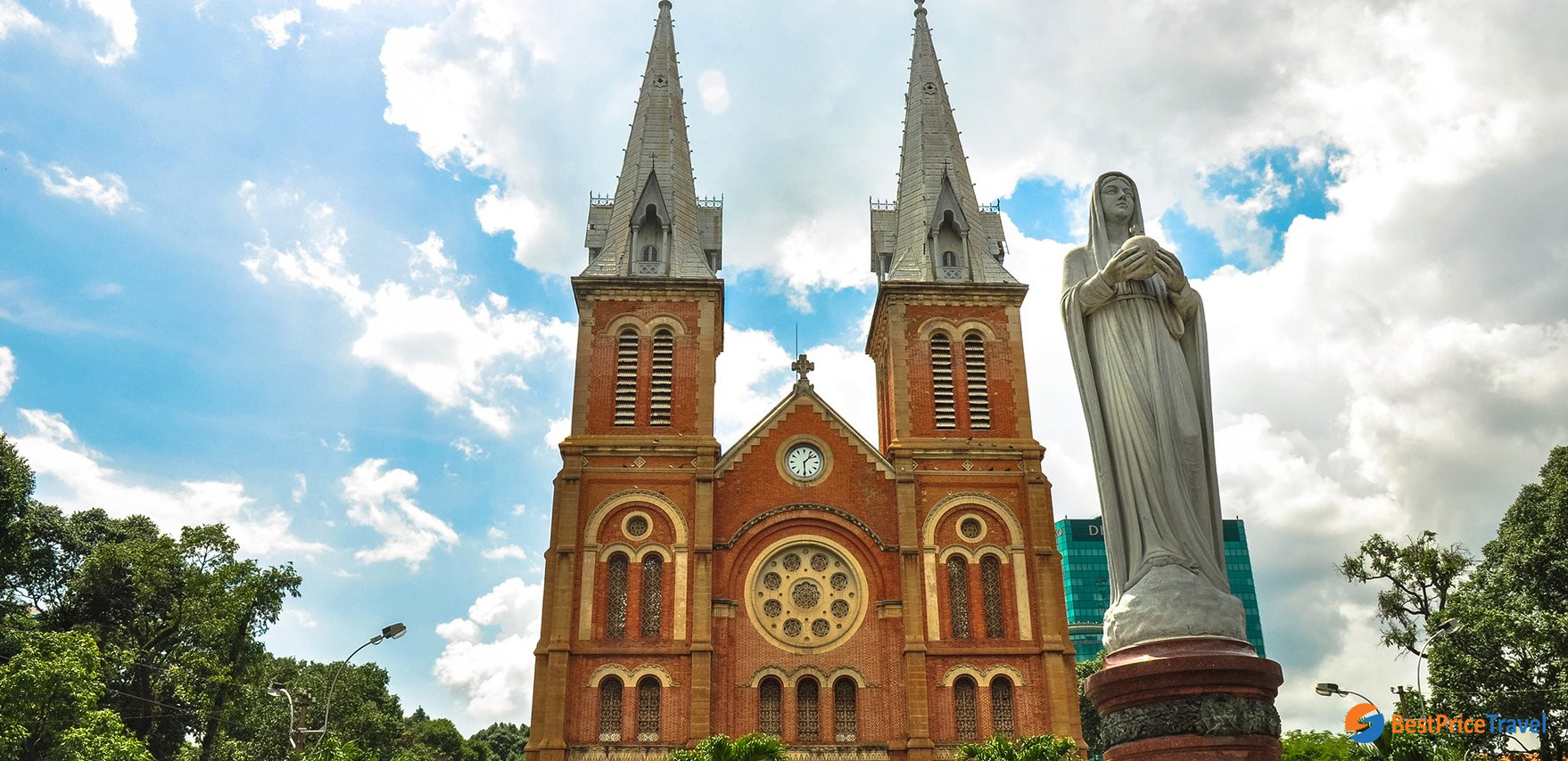 Notre Dame Cathedral is a symbol of Saigon