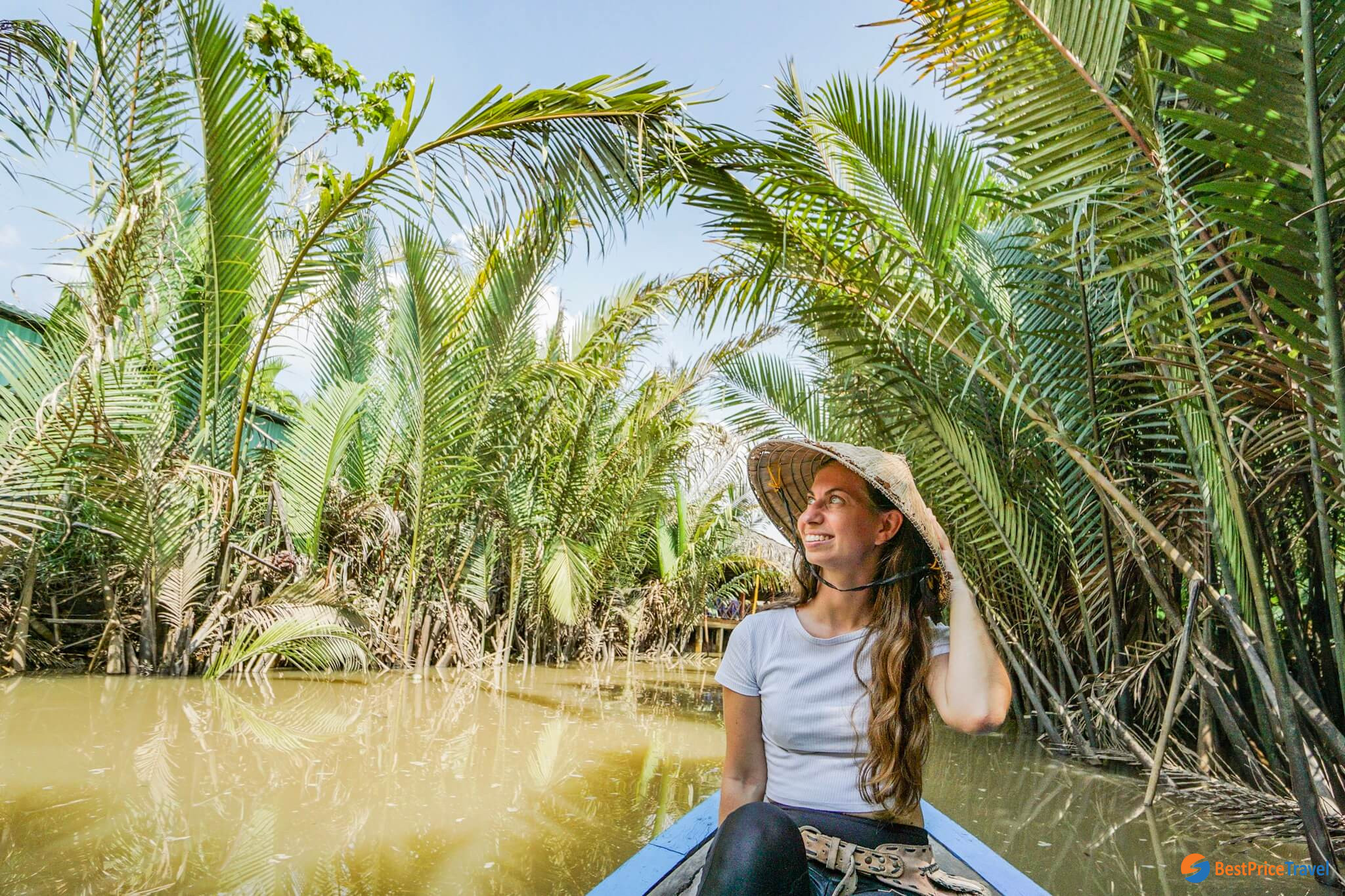 Enjoy your boat ride in Mekong Delta area