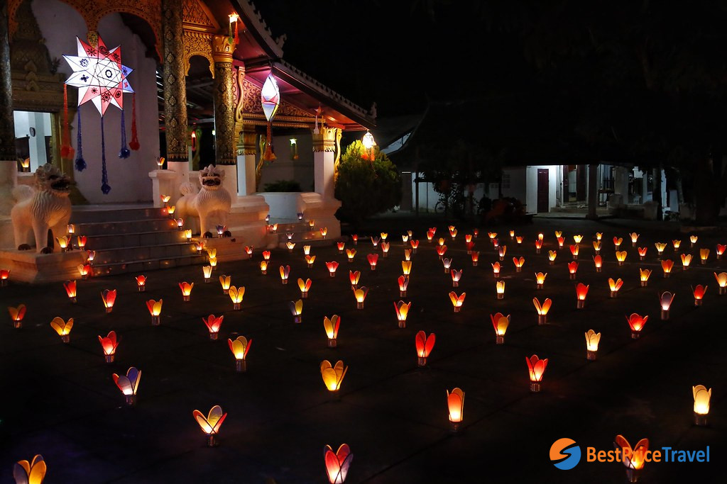 The Festival of Lights is known as Awk Phansa Festival