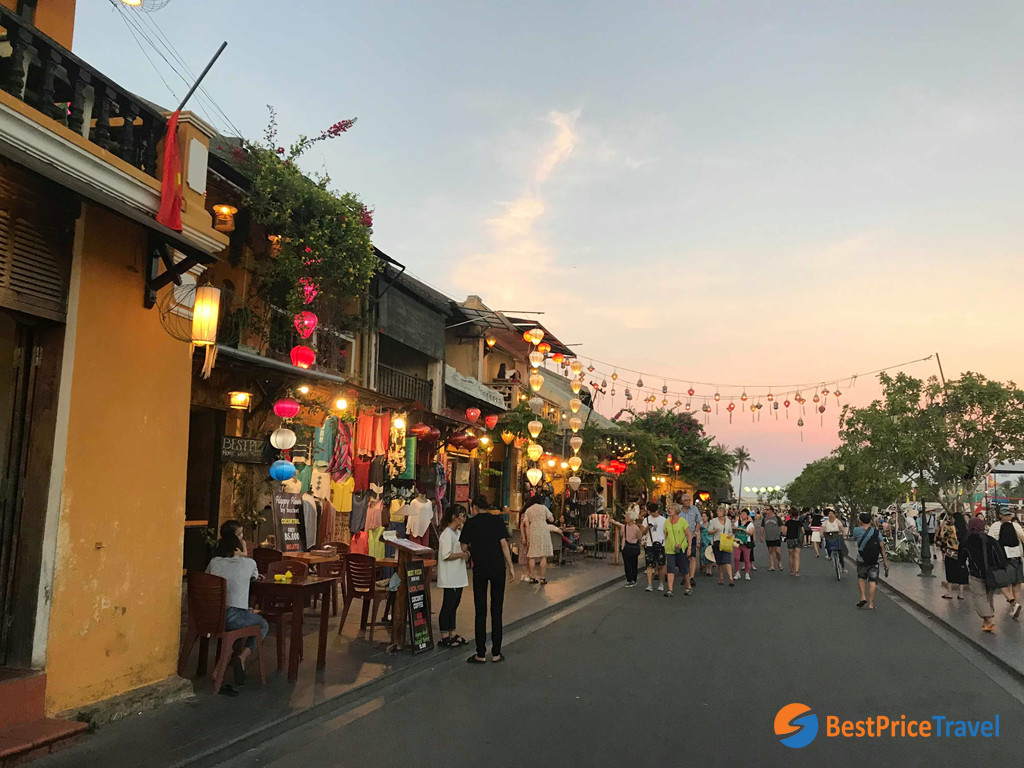 Hoi An Old Town is a World Heritage Site