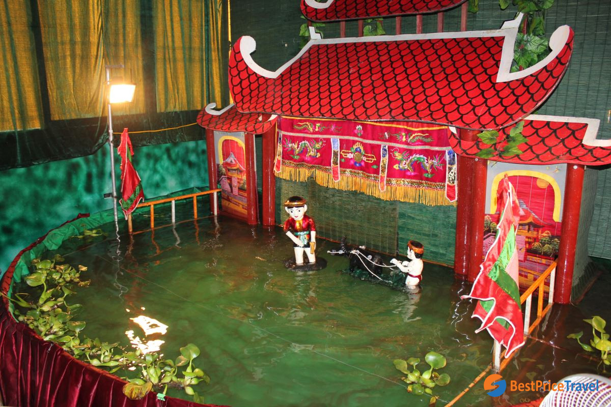 The Water Puppet Show presents ancient tales
