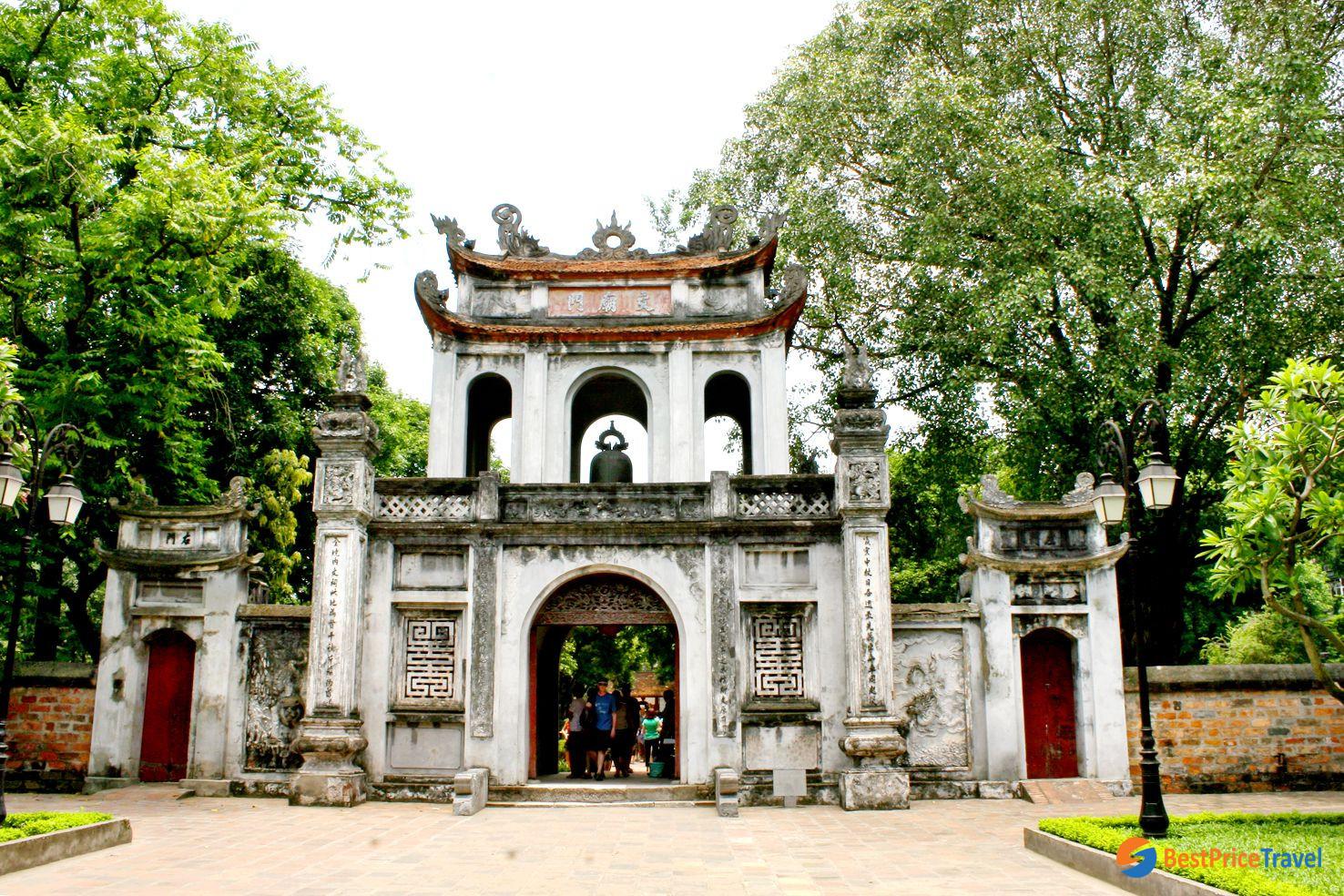 The Temple of Literature Hanoi