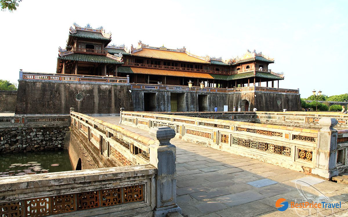 The Imperial City of Hue has charming beauty