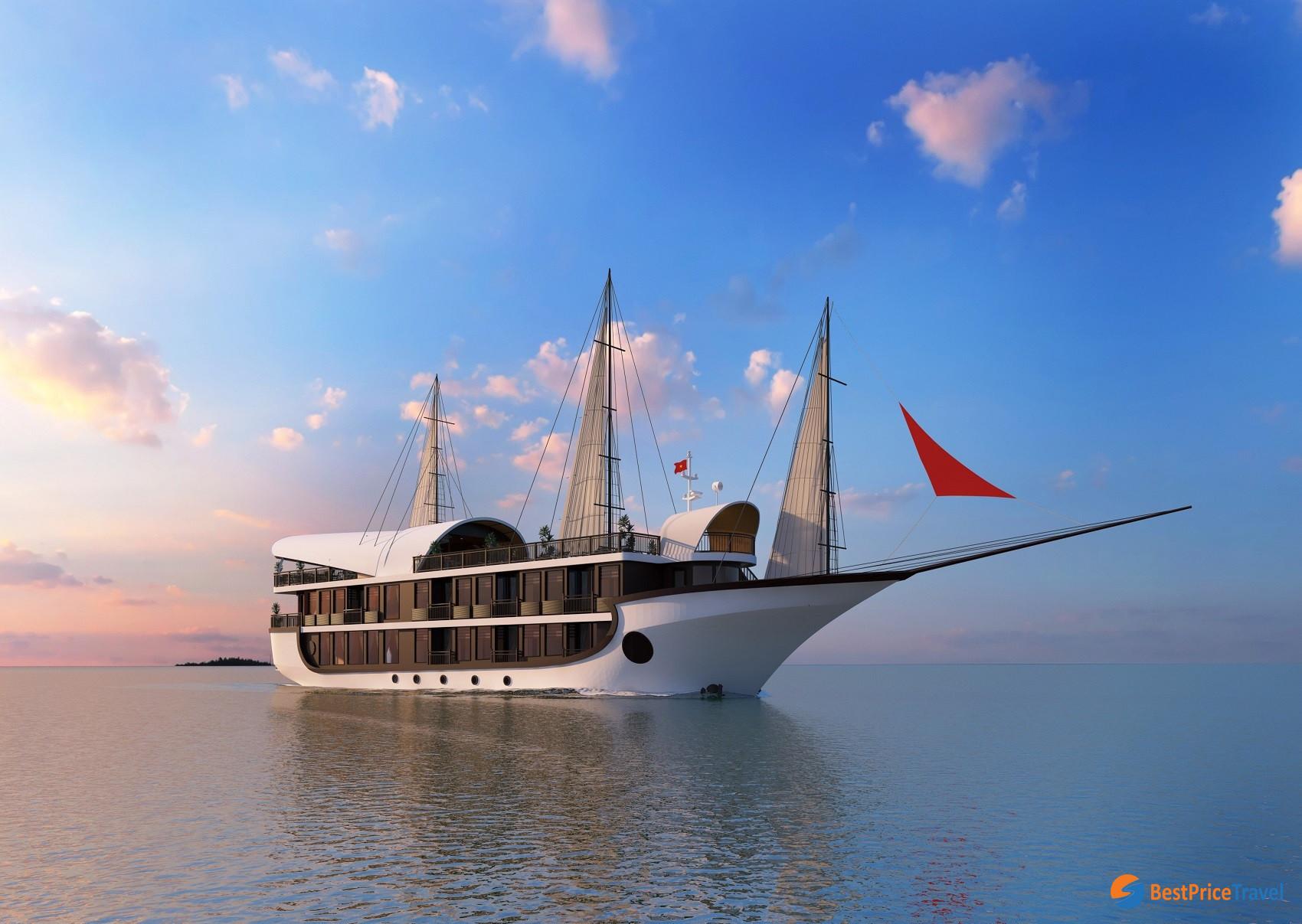 Sena Cruise -  Best Newbie in Halong Bay