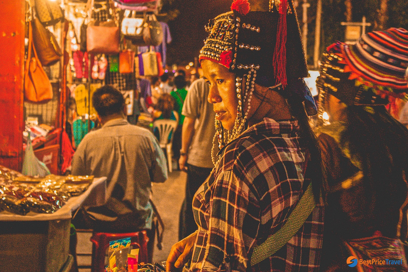 Saturday Night Market - one of best things to do in Chiang Mai