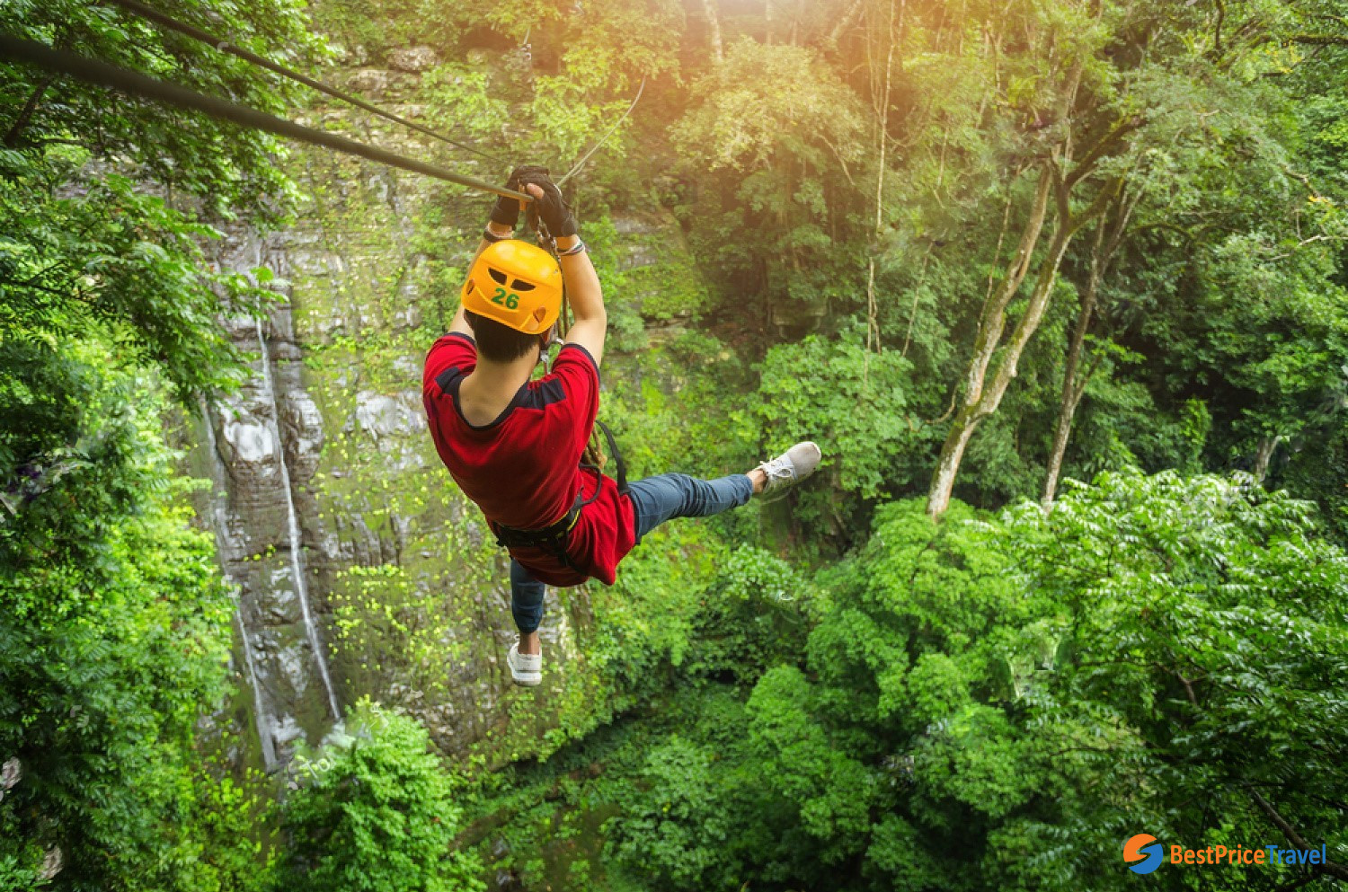 Zipline In Chiang Mai - one of best things to do in Chiang Mai