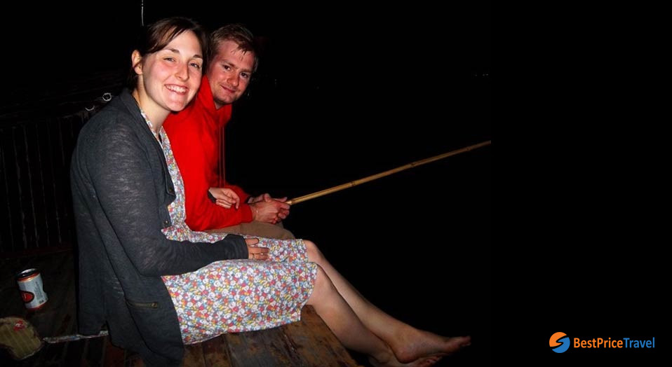 Fishing - Things to Do in Halong Bay at night