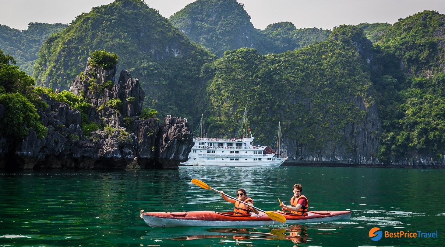 Kayaking -  Things to Do in Halong Bay