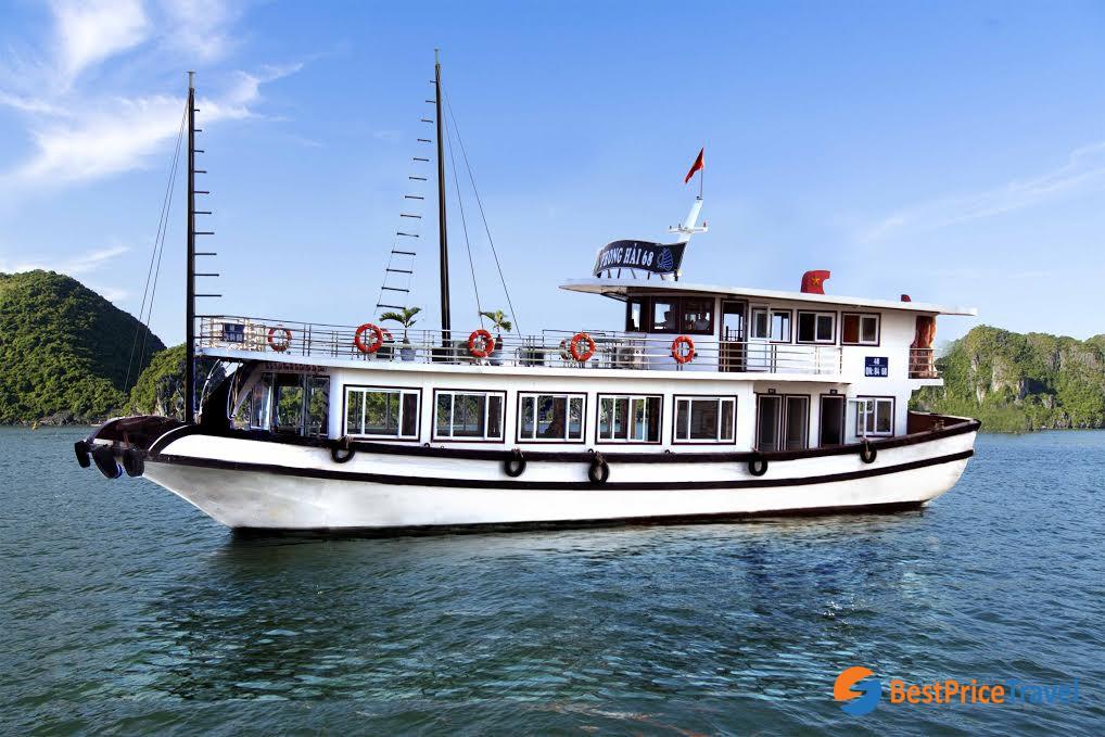 a Halong Bay day cruise