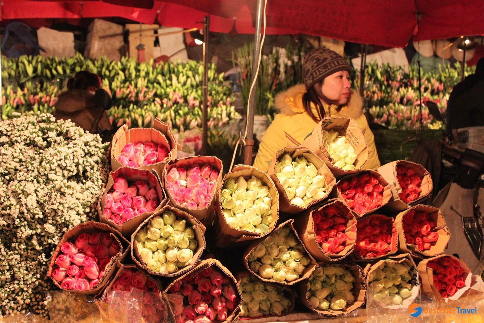 Quang Ba flower market  - Vietnam's Tet Flower Markets