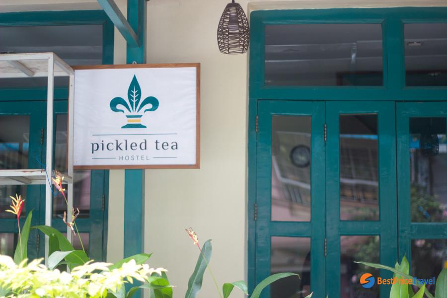 Pickled Tea Hostel Yangon