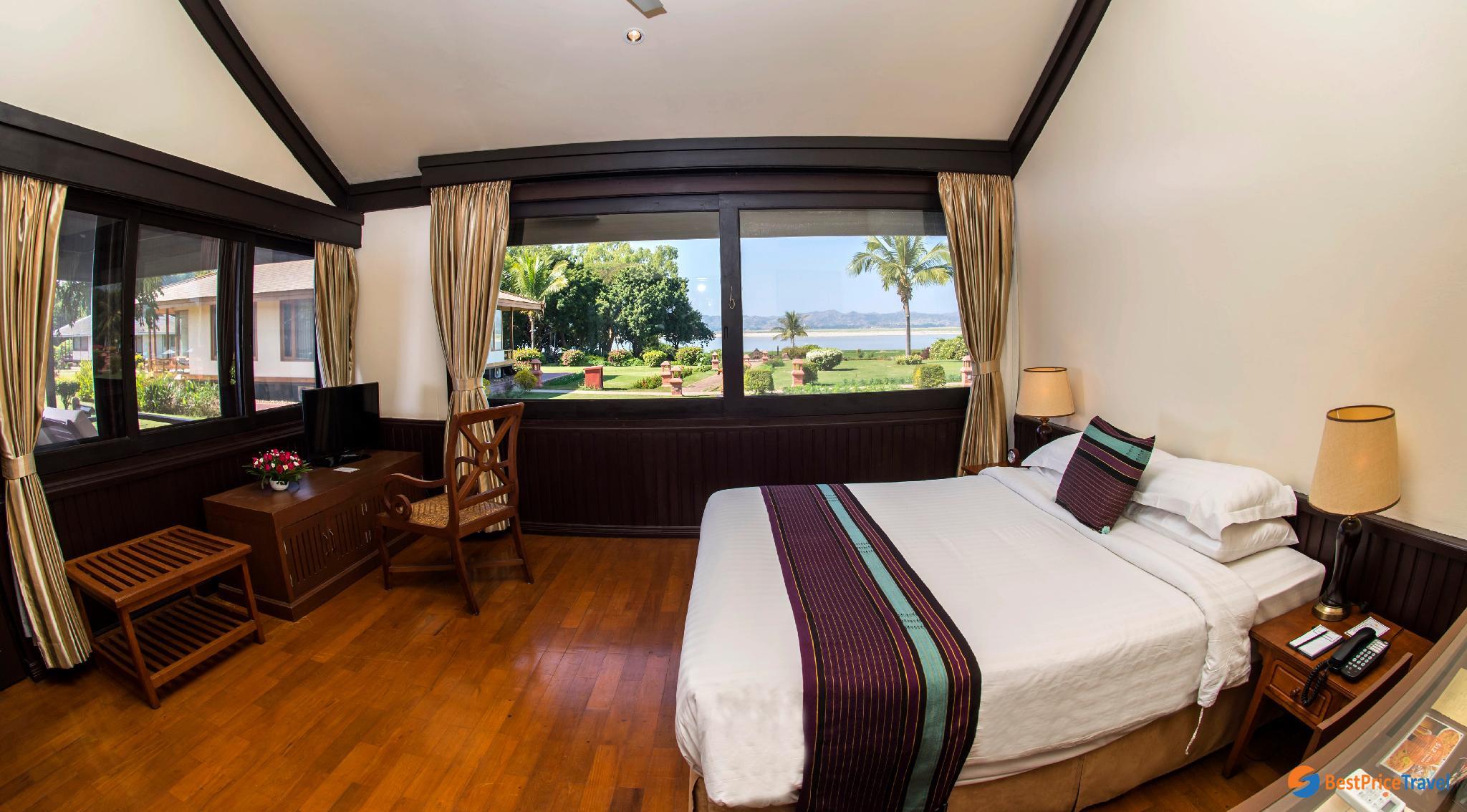 Single room at Bagan Thiripyitsaya Sanctuary
