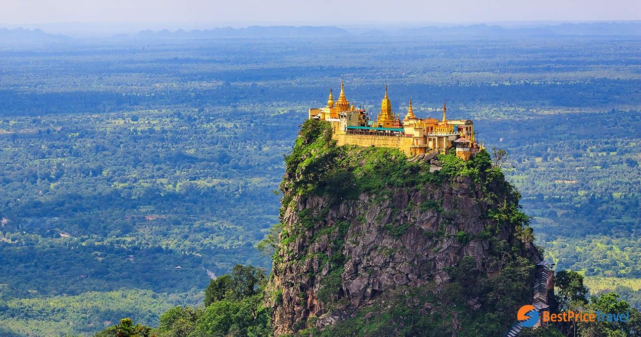 Climb to Mount Popa