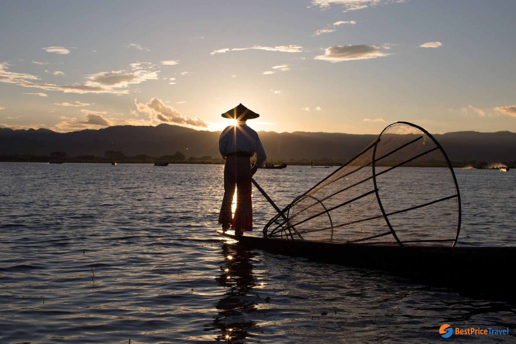 Behold the captivating scenery on Inle Lake