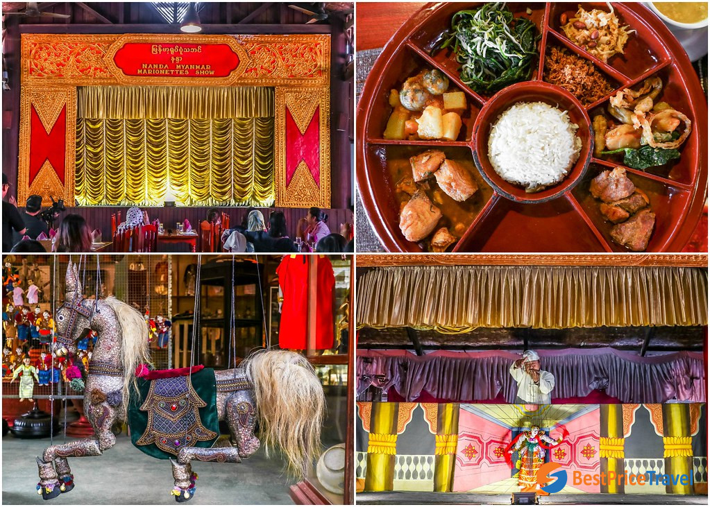 Taste the best cuisine in Bagan