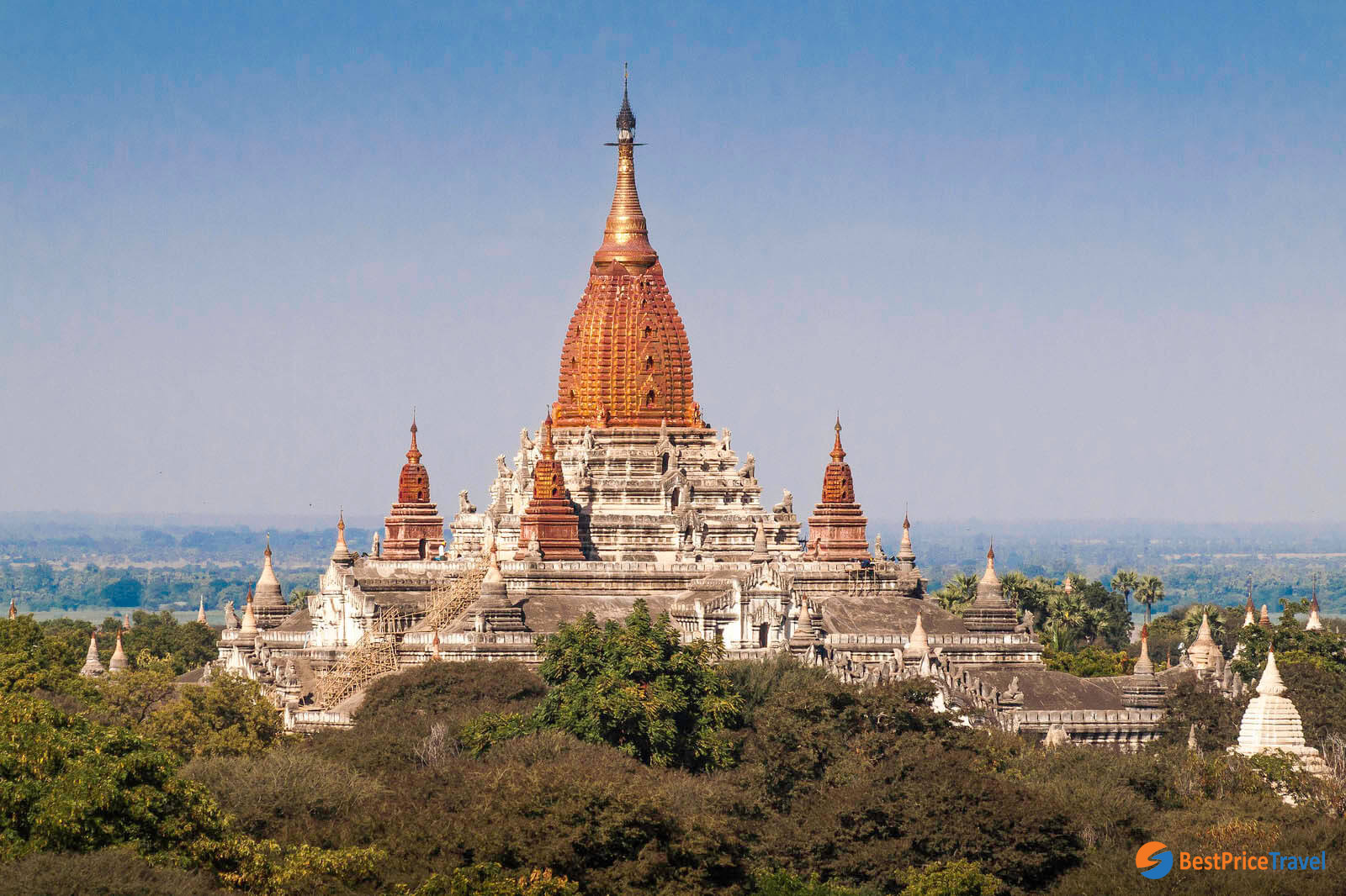Ananda Temple is another must-see attraction in Bagan