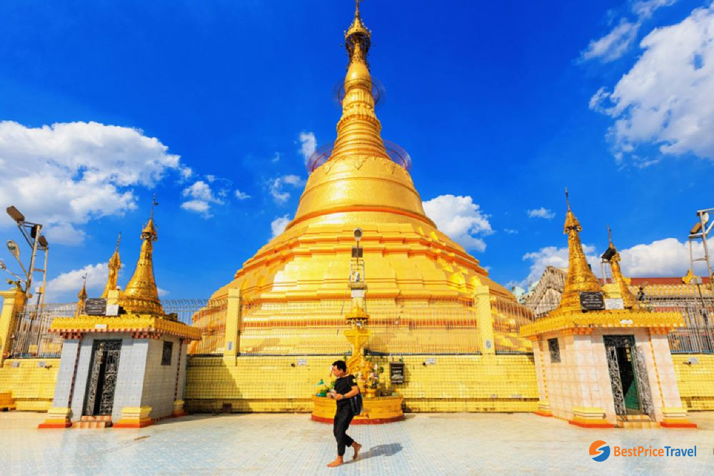 Botataung Pagoda - Best thing to see Yangon in 1 day