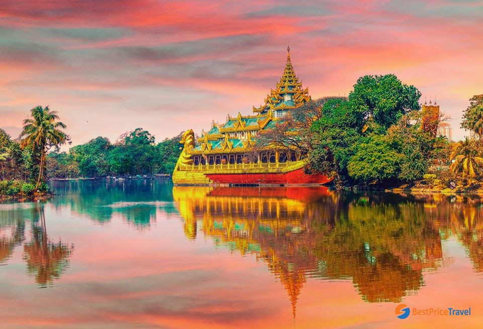 Best time to visit Yangon in 1 day
