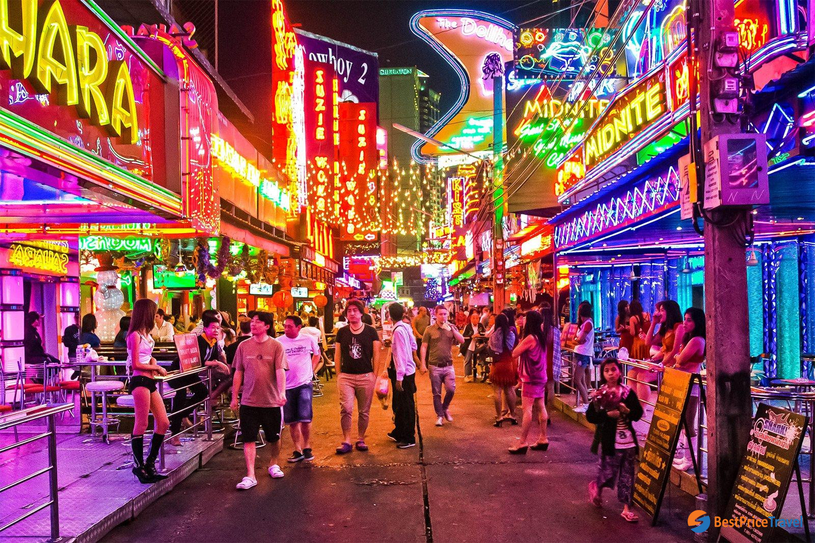 Explore Red Light District - 10 Best thing to do in Thailand