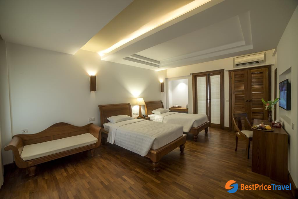 3-star hotel is a budget chocie to save the cost of travel in Myanmar