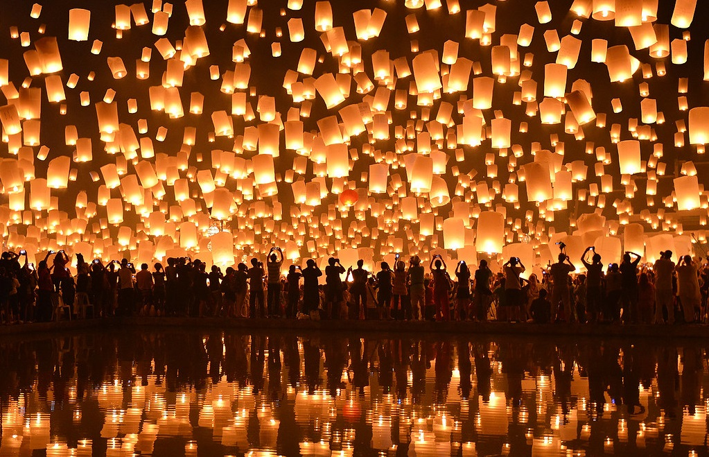 Yi Peng Festival offers the best time to visit Chiang Mai