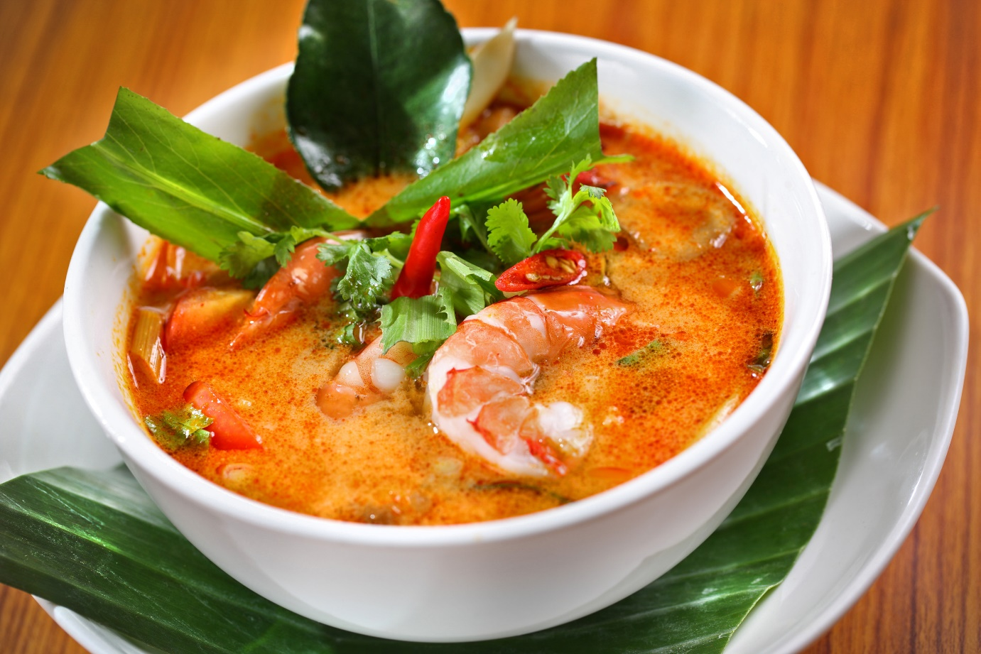 Tom Yum Goong - Top 10 best street food in Thailand