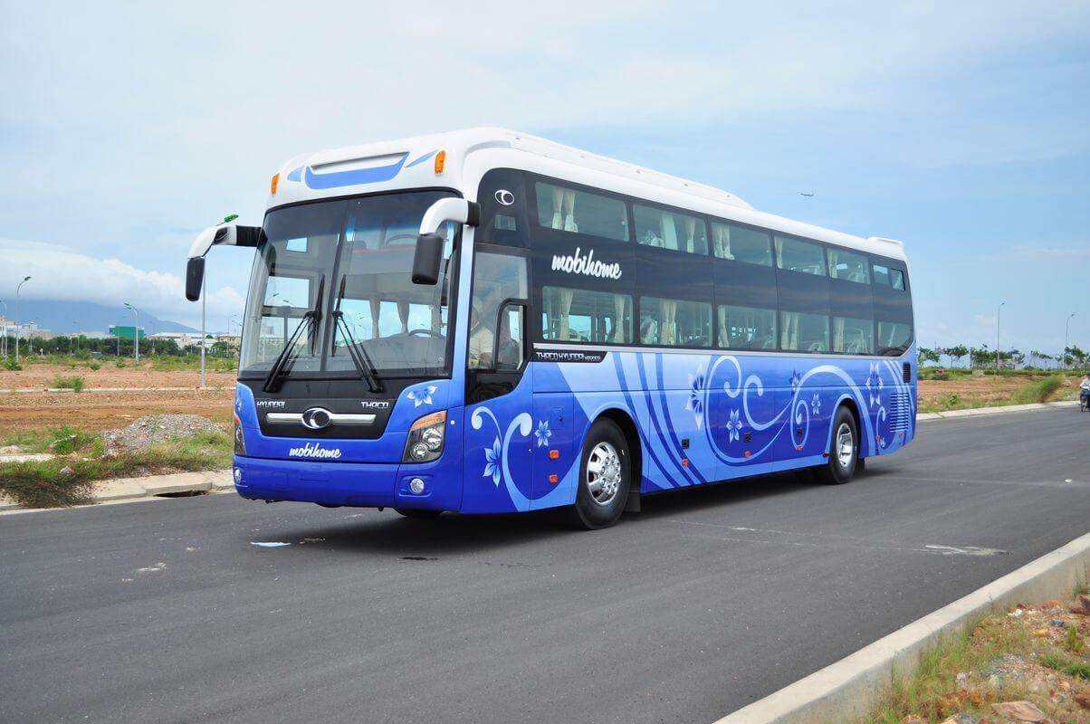 Bus transfer from Halong to Ninh Binh