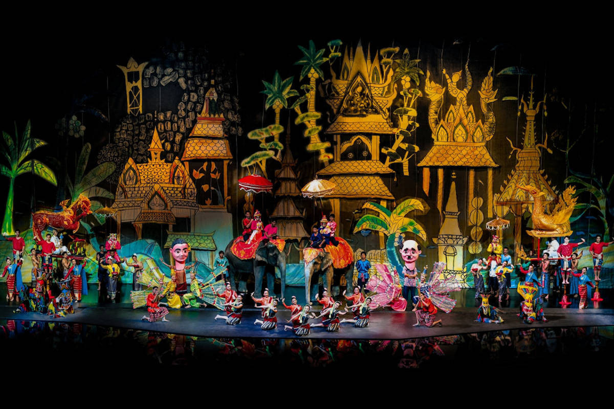 The Siam Niramit Show - Deep Inside Thailand on A 15-day Journey