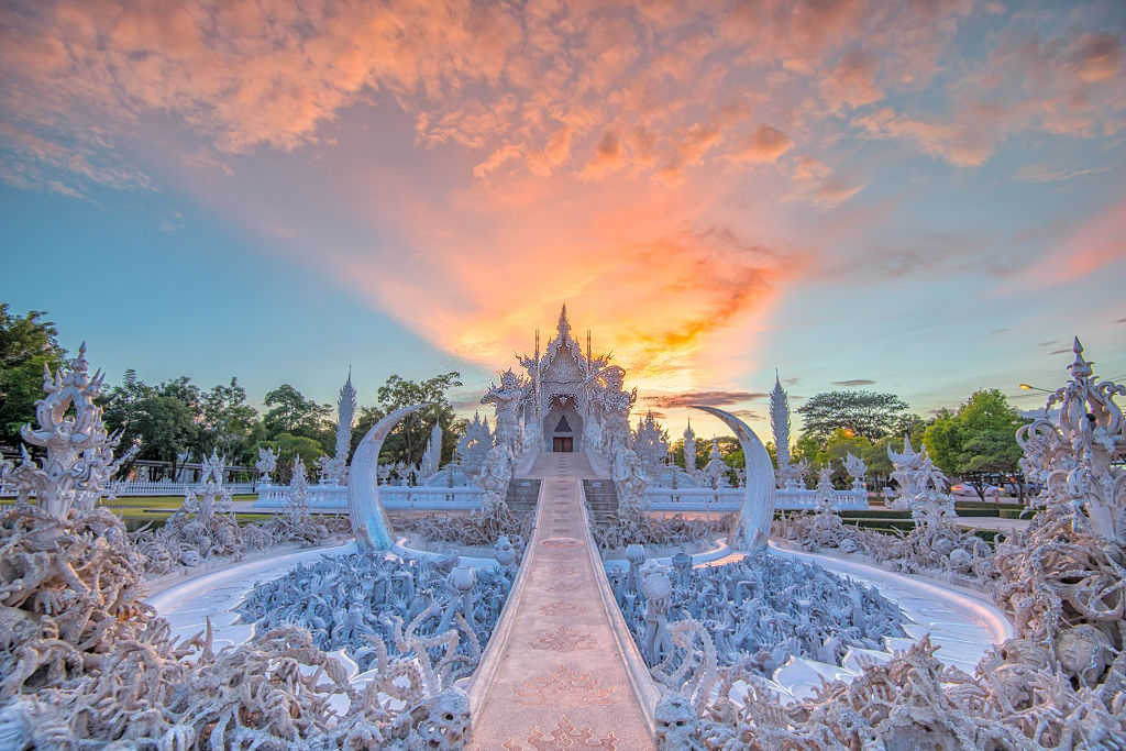 Wat Rong Khun - Deep Inside Thailand on A 15-day Journey