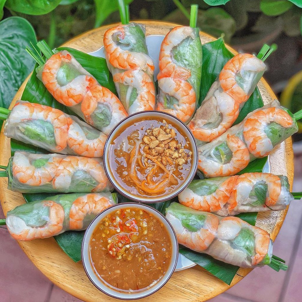 Fresh Spring Rolls - Top 30 famous Vietnamese food