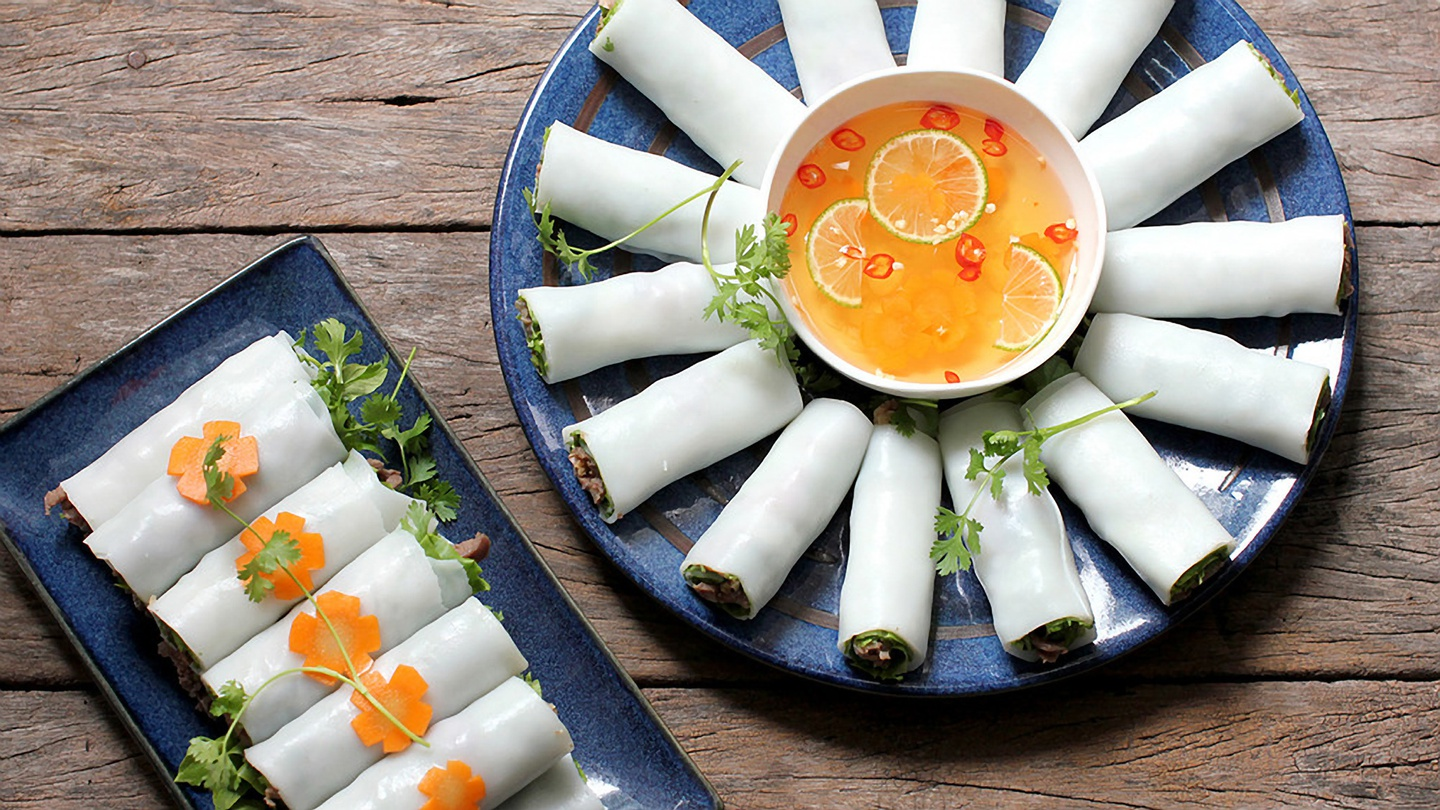 Rolled Noodle - Top 30 famous Vietnamese food