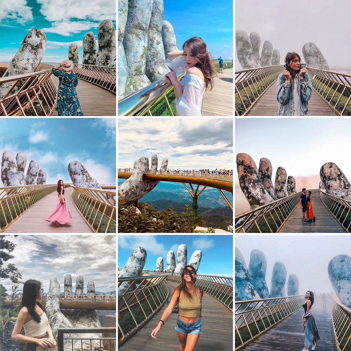 Instagram posts of Golden Bridge