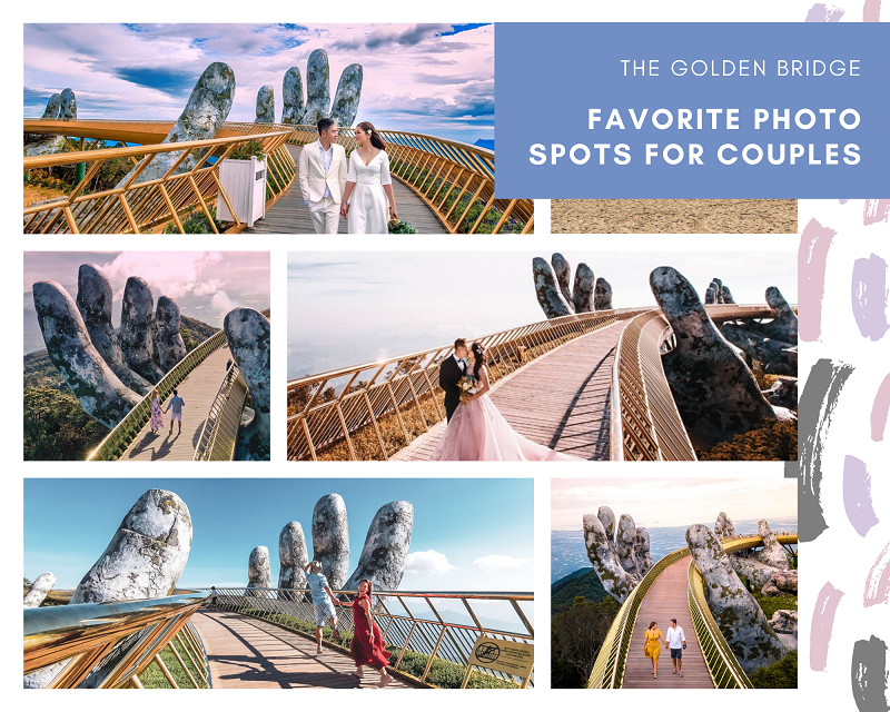Golden Bridge for couples