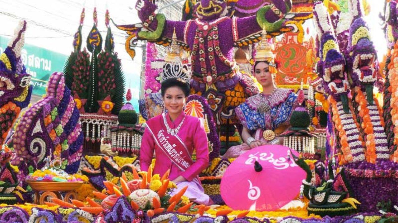 Chiang Mai's flower festival - Thailand in February