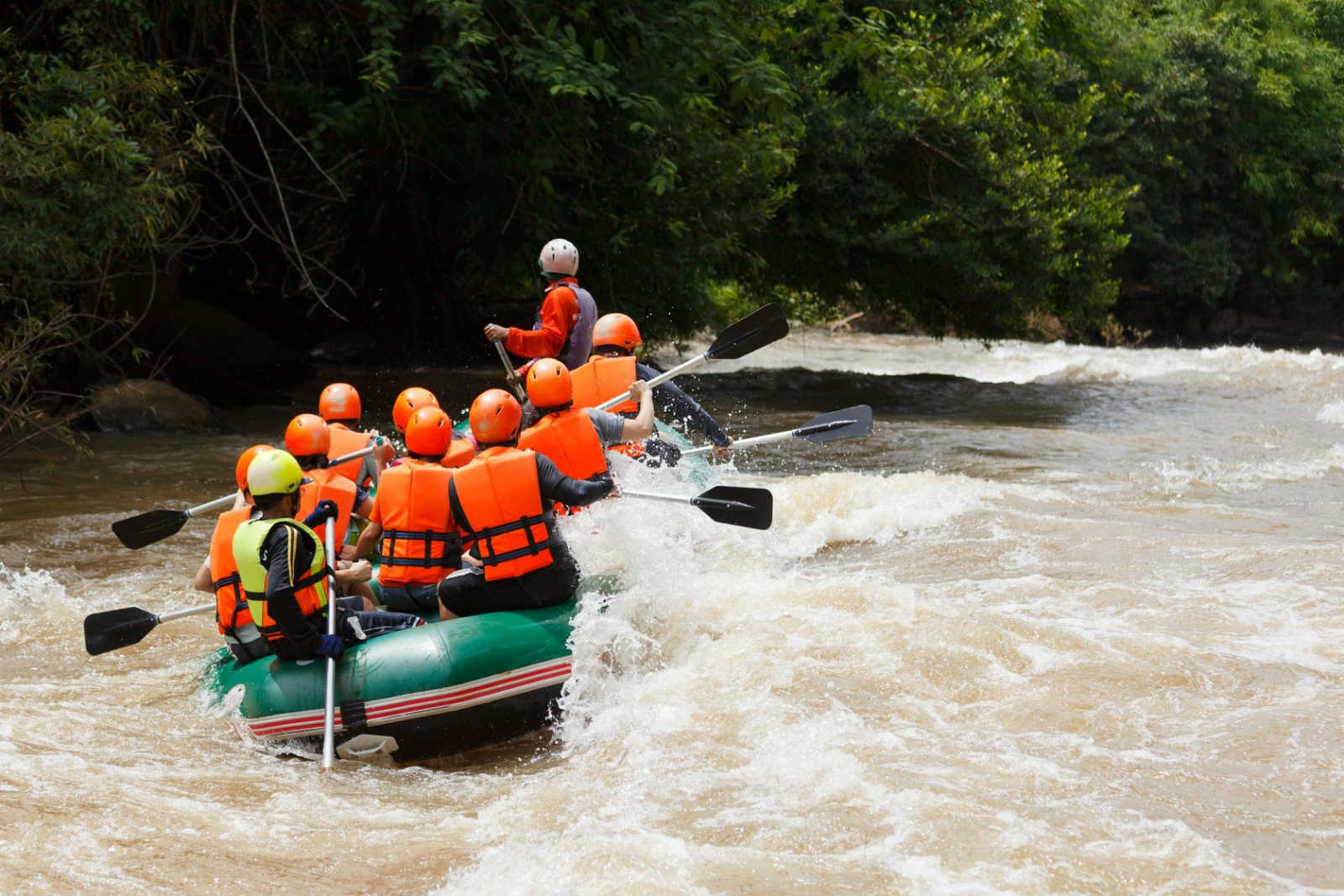 Kek river rafting festival - Things to Know about Thailand's Weather in September