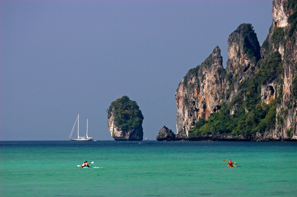 Kaykaing - Interesting activities on Phi Phi island