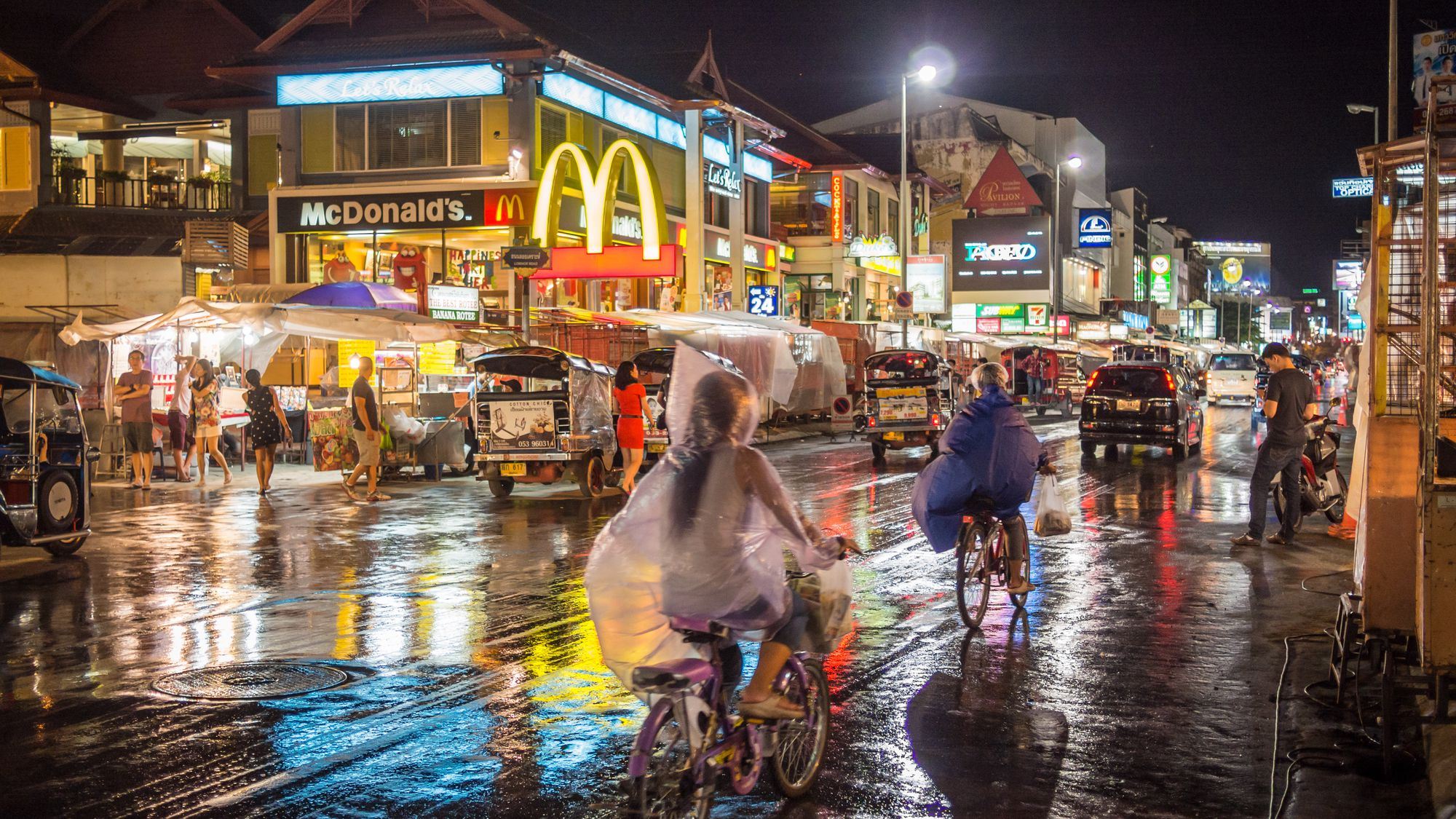 Disadvantages of traveling to Thailand in the monsoon season