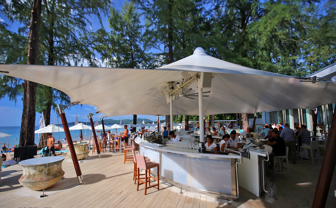 Catch Beach Club - Top 5 famous bars in Phuket