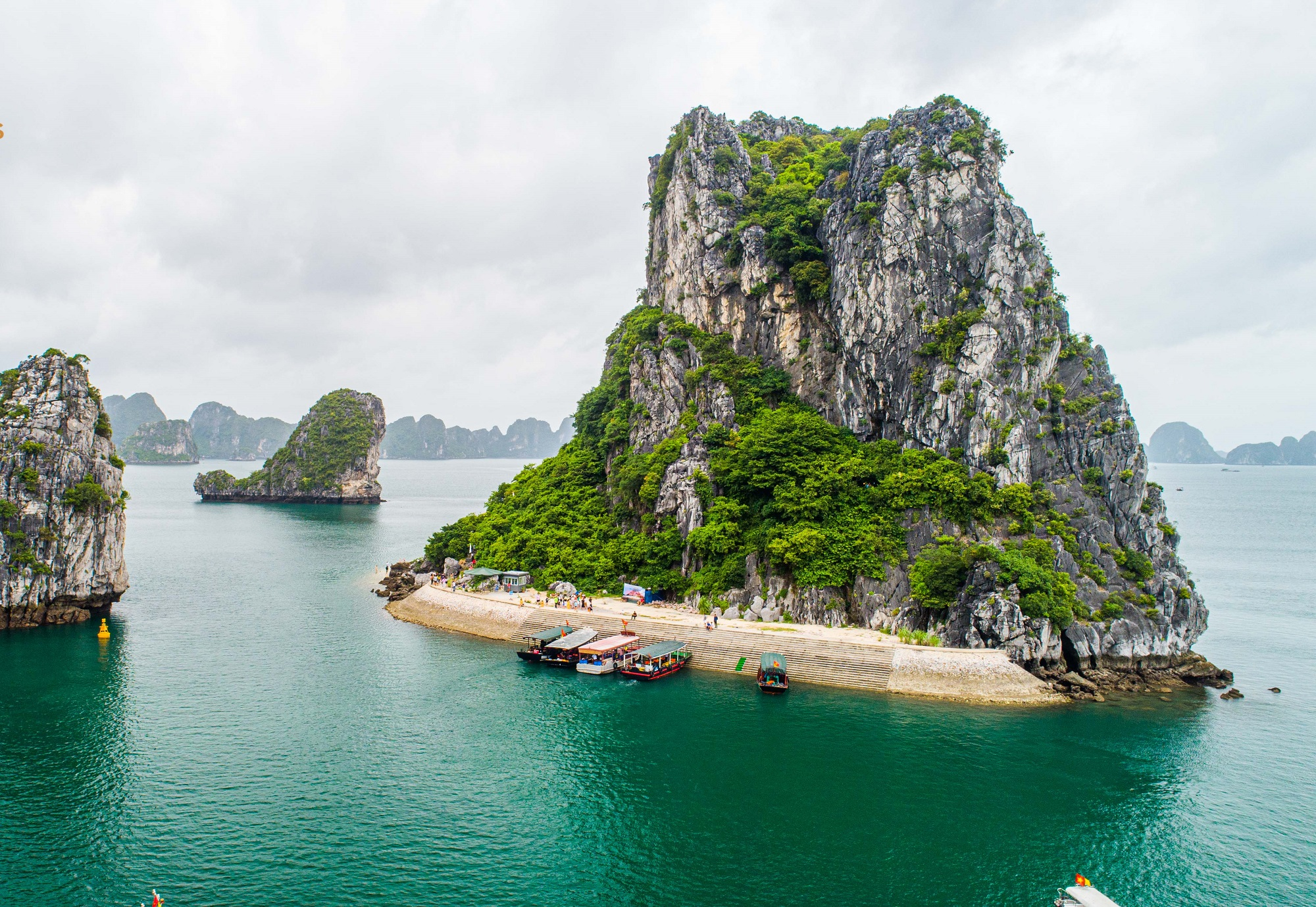 Cruising in Halong Bay is in every traveller's list.
