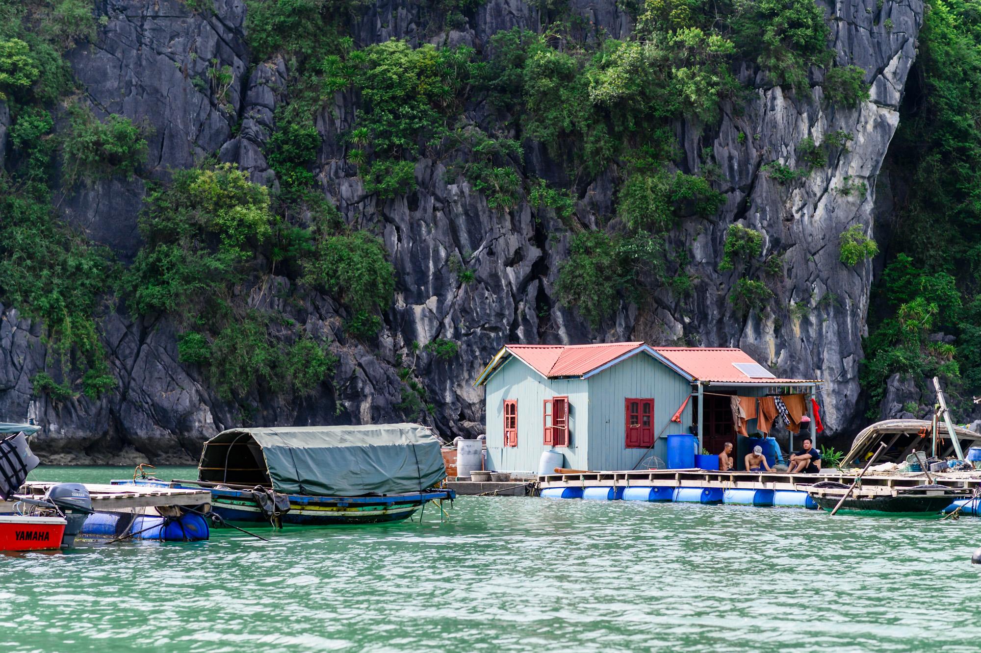 Vung Vieng Fishing Village.