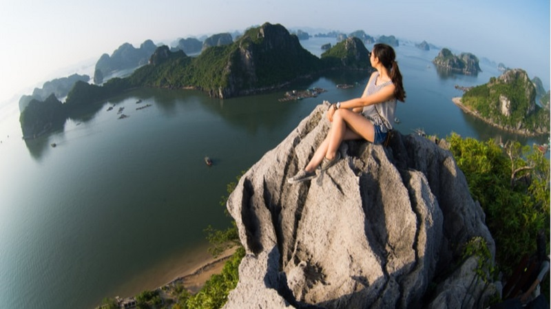 Halong Bay from the top
