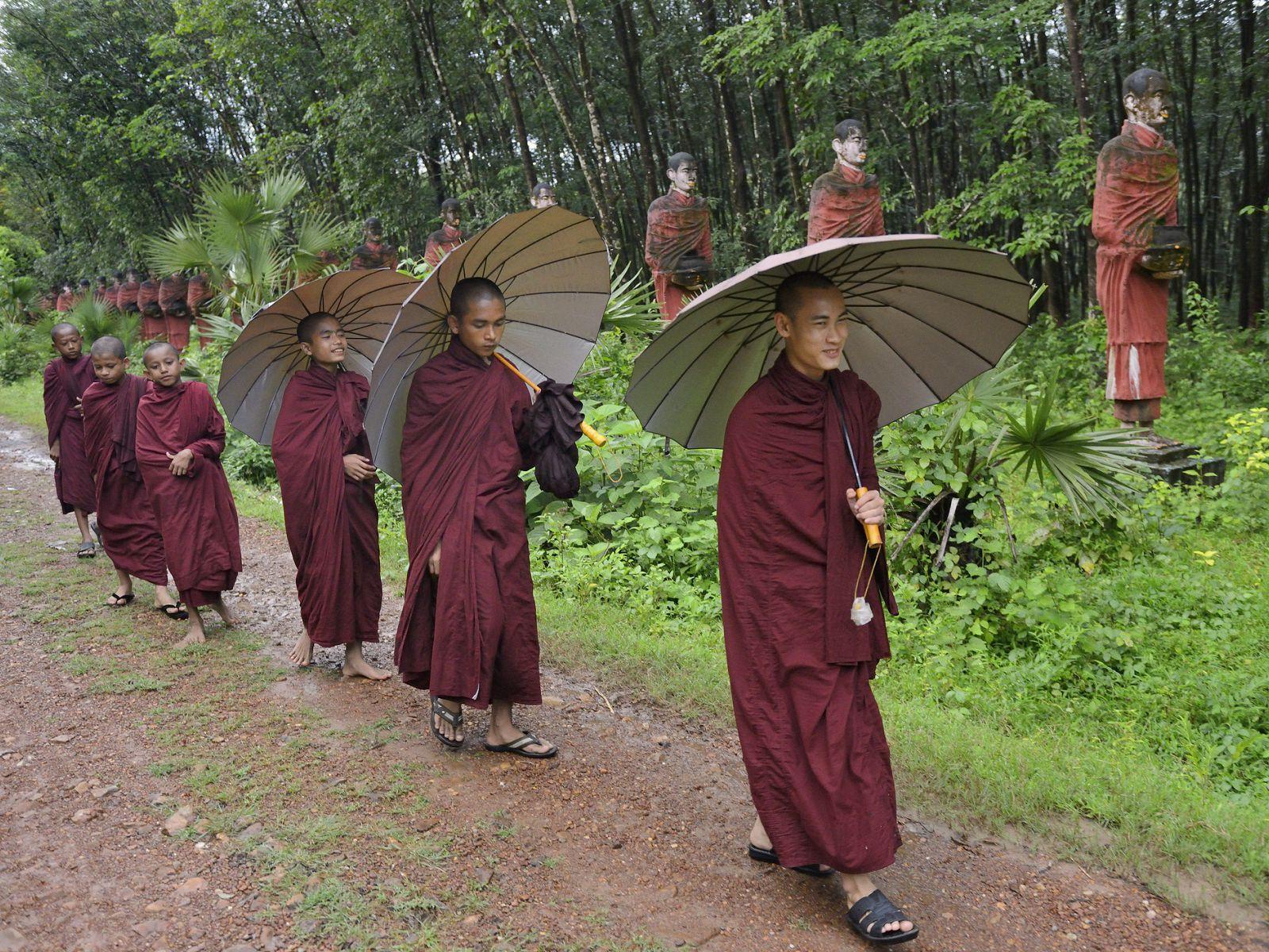 Myanmar in rainy season