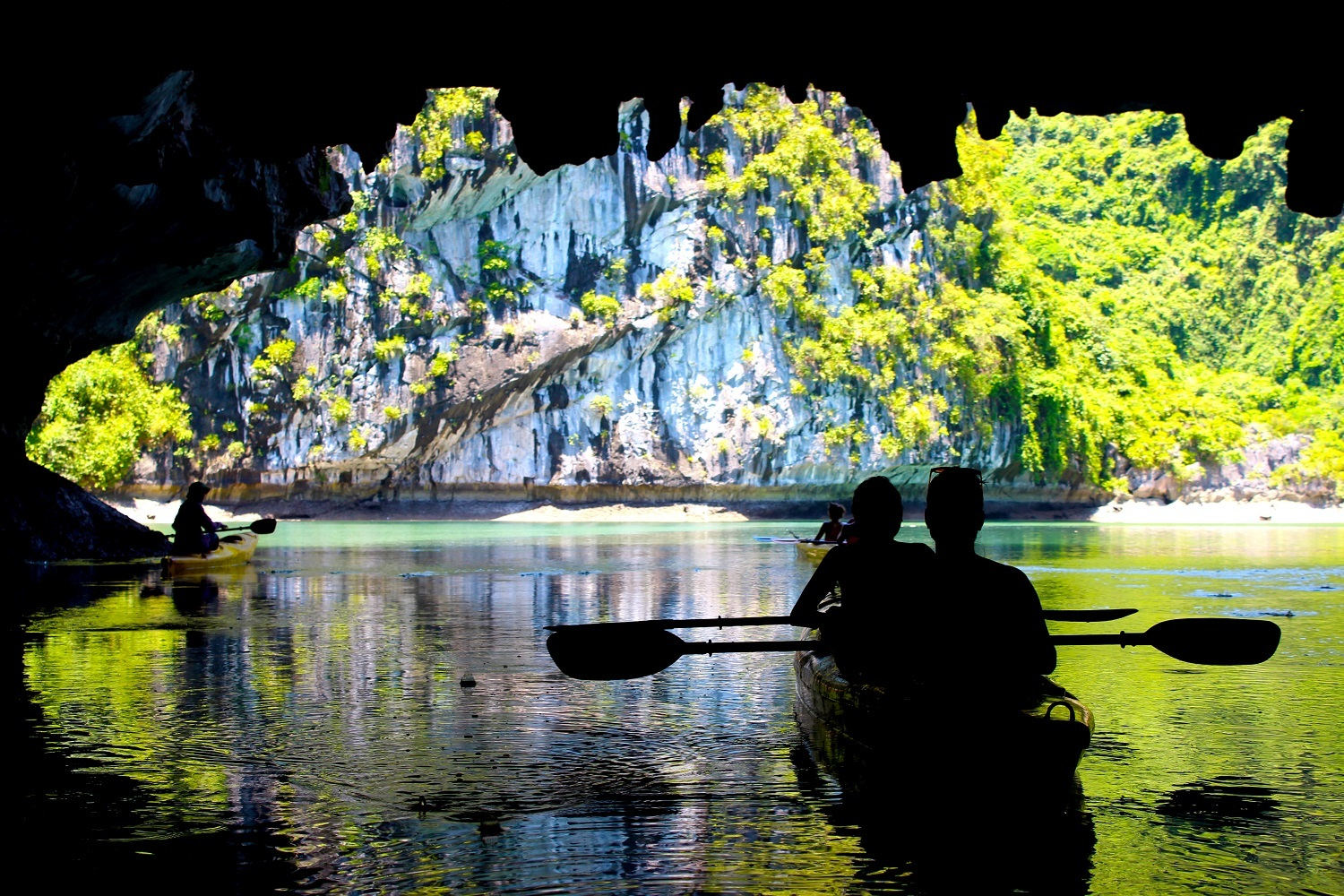 Dark and Bright Caves - Ha Long Bay