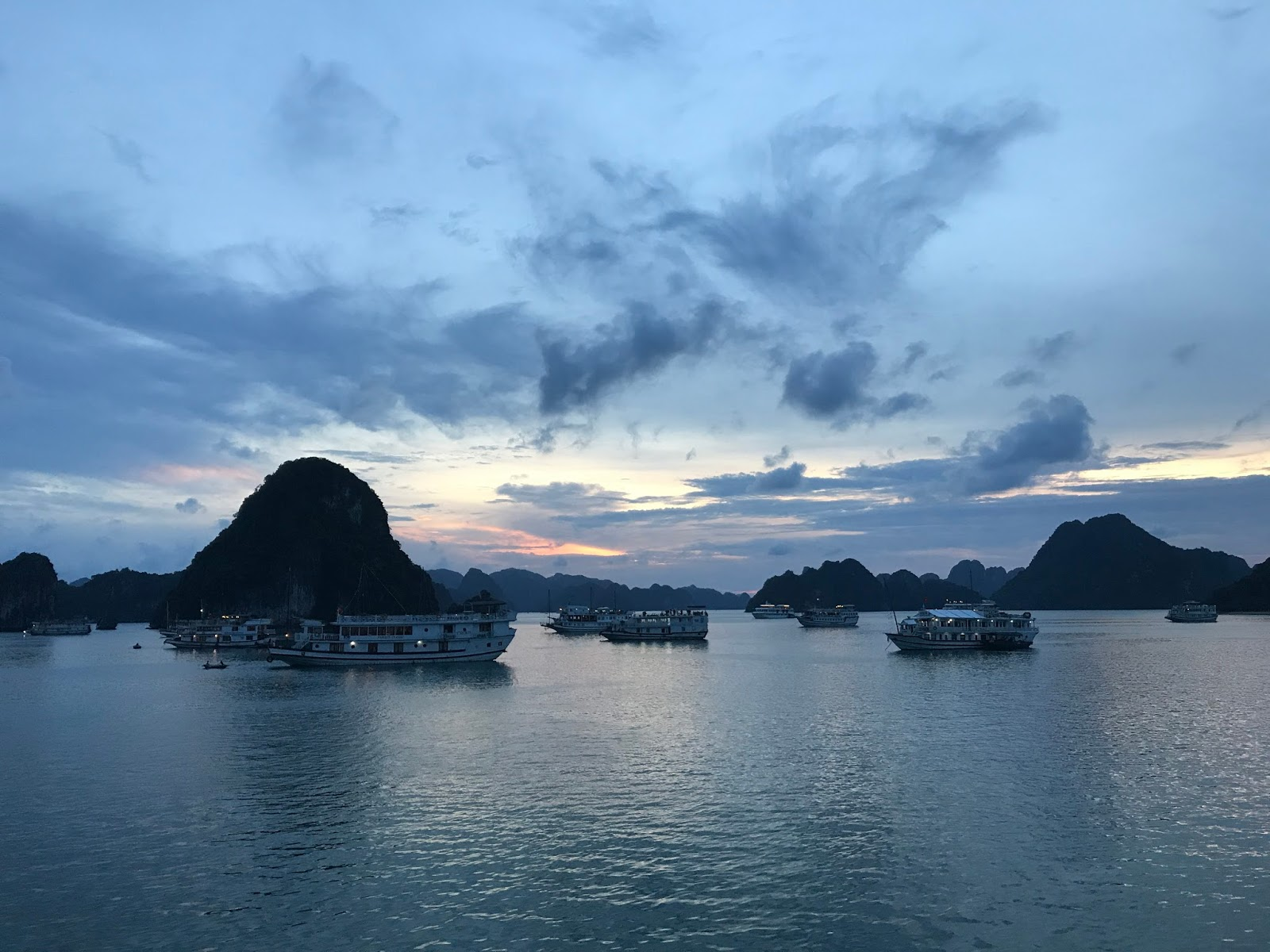 Halong bay weather in August