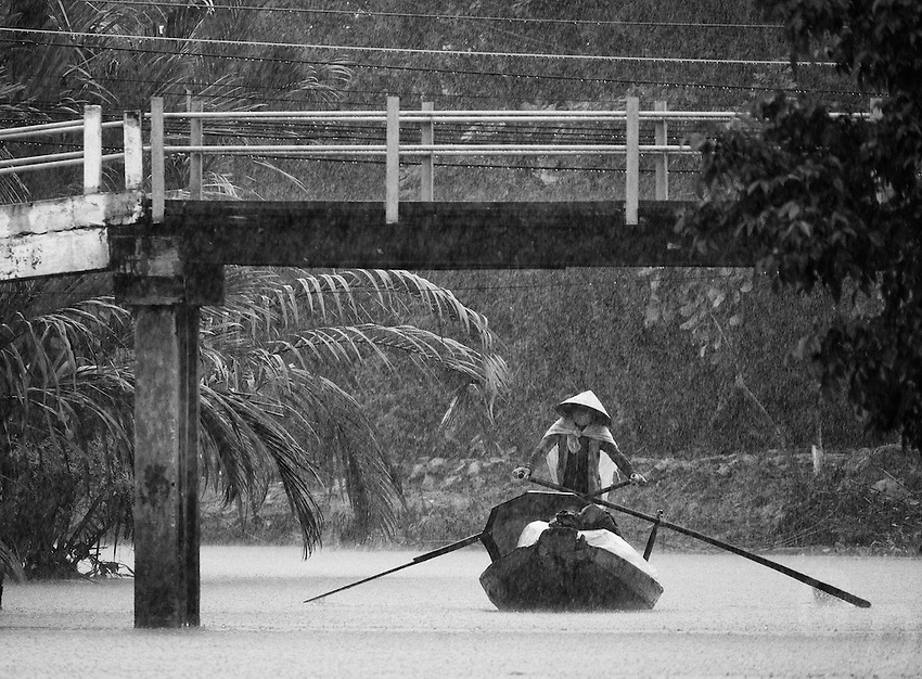 Rainy Season in Mekong Delta