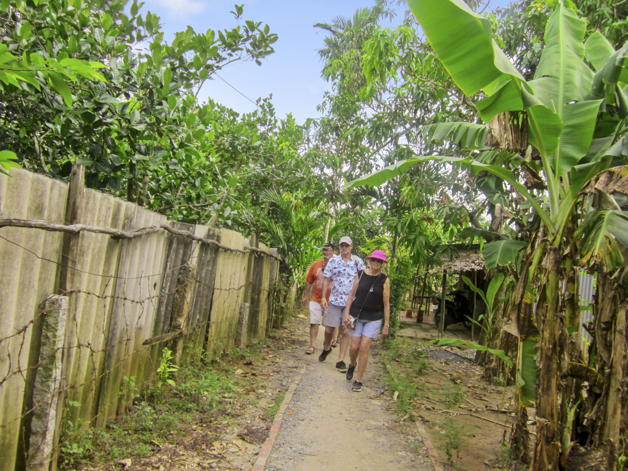Best time to visit Mekong delta is dry season
