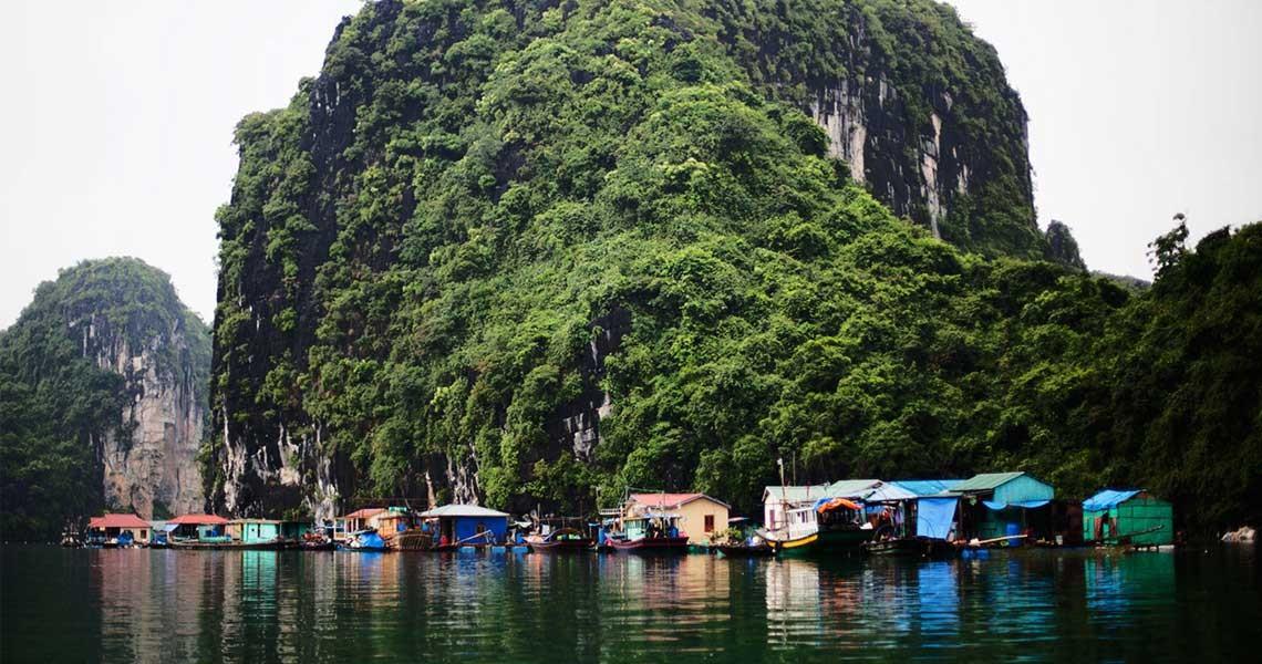floating village halong bay cruise 3d2n