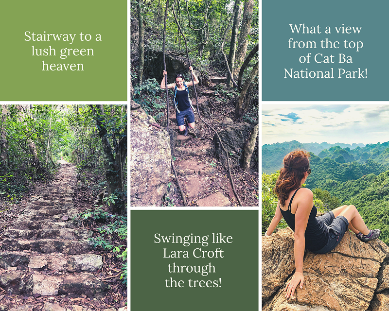 Hiking - Top things to do in Halong Bay