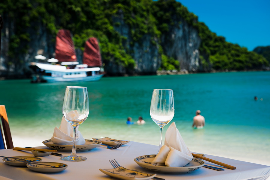 BBQ lunch - Top Things to Do in Halong Bay