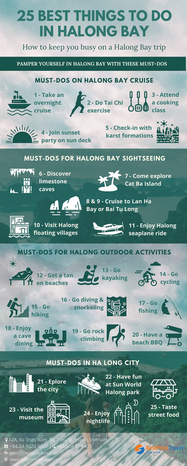 Top things to do in Halong Bay